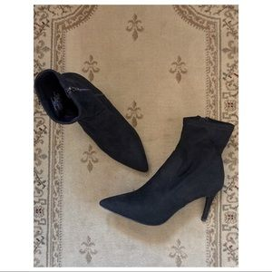 dab65a22abc Steve Madden Lava Suede Sock Bootie